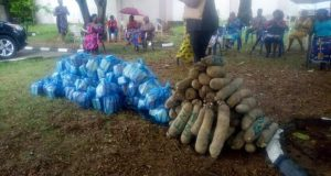COVID-19: ABS MD/CEO, Chief Uche Nworah Donates Food Items To His Community