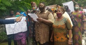 George Floyd protest holds in Lagos (photos)
