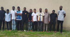 EFCC Arrests 16 Suspected Yahoo Criminals In Ogun, Lagos