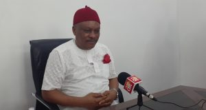 I challenge Akpabio to prove that I received a dime from NDDC contracts – Senator Sam Anyanwu
