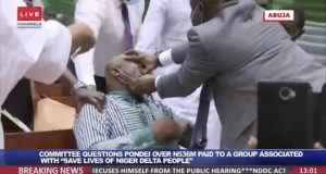 NDDC MD, Pondei, 'slumps' during Reps Committee interrogation.