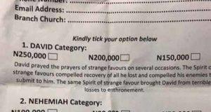 Did Jesus attach any monetary value to prayers? (Photo)