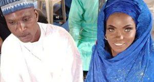 Kwara First Lady gifts blue-eyed lady's family new accommodation