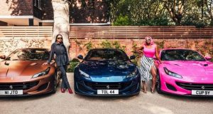Otedola buys Ferrari for daughters