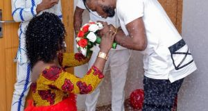 """Thanks for accepting my vag*na"", Igbo girl kneels down to receive engagement ring"