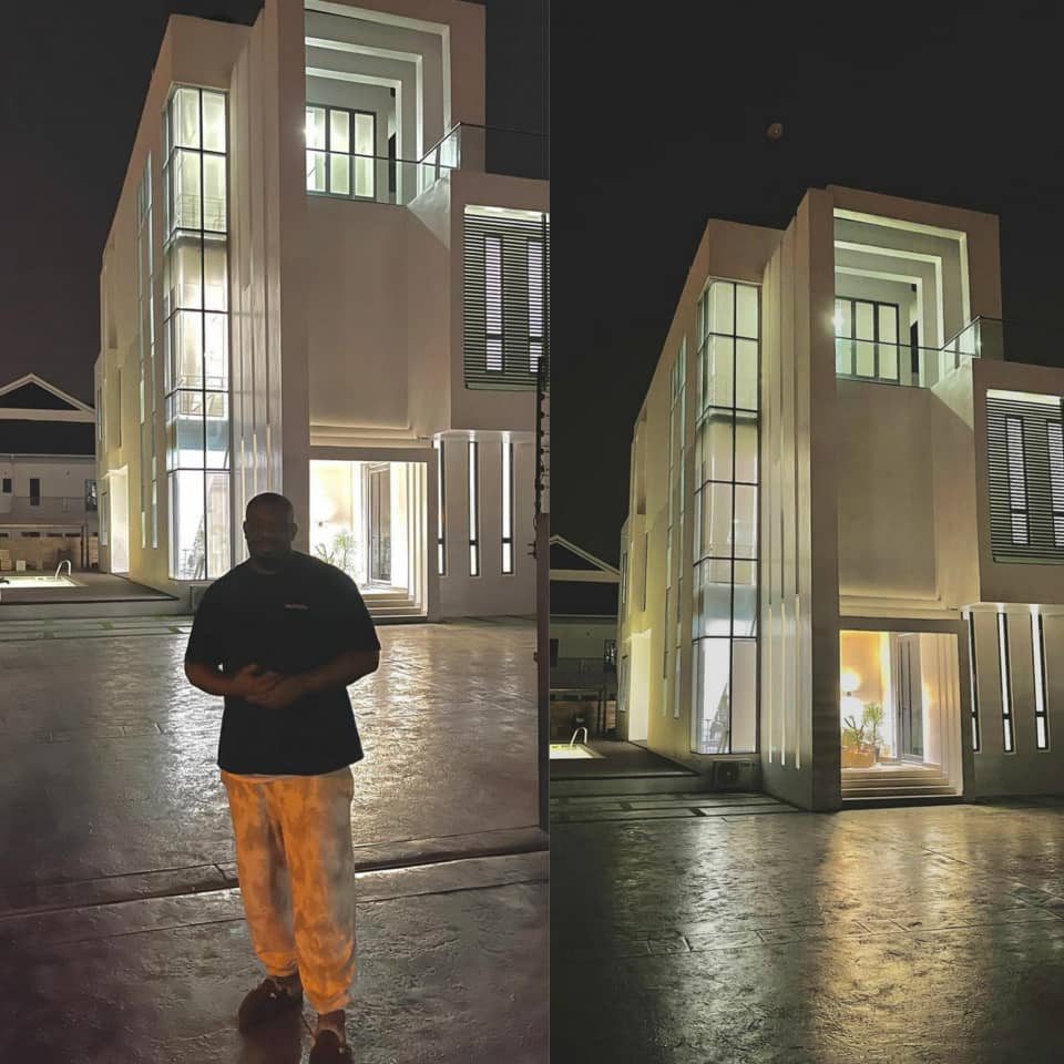 Don Jazzy reveals new mansion (photos)
