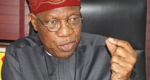 """""""Any further resort to violence in the name of #EndSARS will not be tolerated this time""""- Lai Mohammed"""