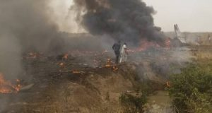 Military aircraft crashes in Abuja, 7 persons dead