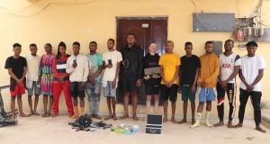 14 yahoo boys and girls arrested in Niger state