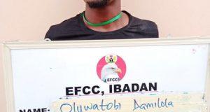 Yahoo boy jailed four months in Ibadan