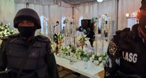 76 persons arrested at a birthday party in Lagos