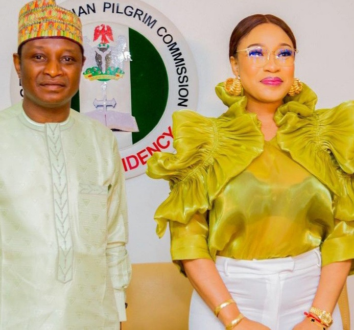 We didn't appoint Tonto Dikeh Ambassador – Nigeria Christian Pilgrims Commission