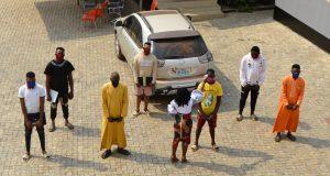 Seven yahoo boys arrested in Ibadan (photo)