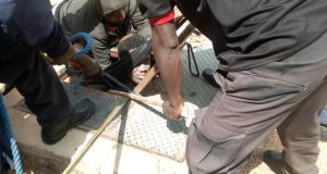 Another yahoo boy jumps to his death trying to evade arrest from EFCC in Jos