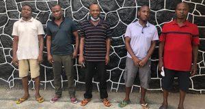 EFCC arrests five yahoo boys over $257,822 credit card fraud