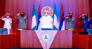 Secure Nigeria before rainy season – Buhari tells new service chiefs