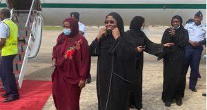 Aisha Buhari back in Nigeria after six months in Dubai