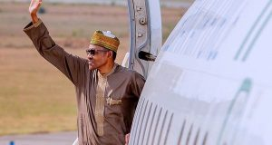 Buhari jets out to the UK for his routine medical check-up