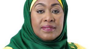 Tanzania's VP, Dr. Samia Suluhu Hassan sworn-in as the country's first female President