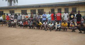 Twenty four yahoo boys arrested in Ogun
