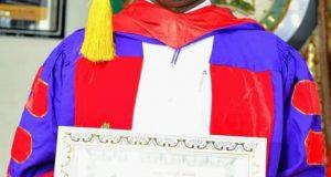 Kogi governor, Yahaya Bello receives honourary professorship from a non-degree awarding UK school