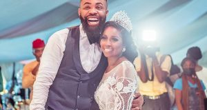 Comedian Arole weds in grand style (photos)