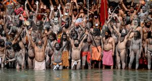 India's Covid-19 cases hit new record as crowds gather for Hindu festival