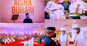 Aisha Buhari's Book launch: List of donors