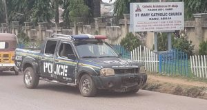 Breaking: Police foil gunmen attack on St Mary's Catholic Church Nyanya Abuja