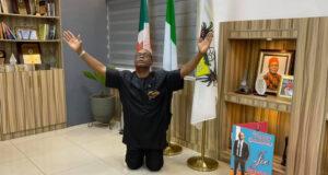 Joe Igbokwe celebrates after Nnamdi Kanu's arrest