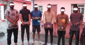 6 yahoo boys arrested in Portharcourt