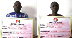 Couple arrested over N935m Ponzi scheme in Lagos