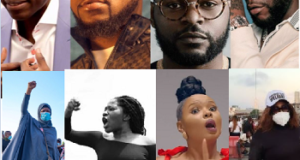 #EndSARS: Court strikes out case against Aisha Yesufu, Davido, Sam Adeyemi and 47 others