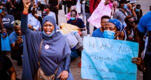 The blood of innocent #EndSARS protesters will haunt you – Aisha Yesufu tells Buhari