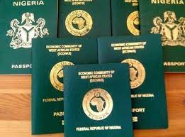 Nigerian Passport ranks 101 among 199 countries, behind Togo and Chad