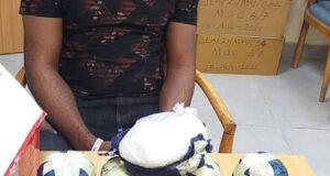 Lagos based drug dealer arrested as NDLEA intercepts 4.15 kilograms of meth