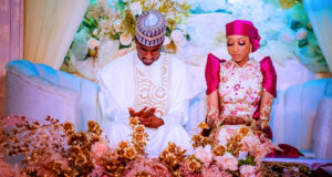 Photos from the launcheon held in honour of Yusuf Buhari and his wife in Abuja