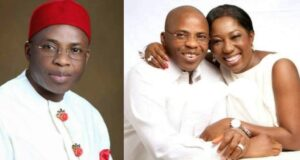 Falana set to defend mistress of ex-Imo governor, Ohakim in court after ex-lover threatened to release her nude pix