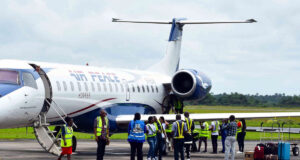 Passengers panic as Air Peace flight experience turbulence and ran out of fuel