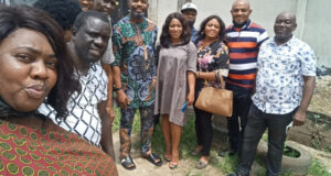 Actors Guild of Nigeria pays condolence visit to Ifeanyi Dike's widow